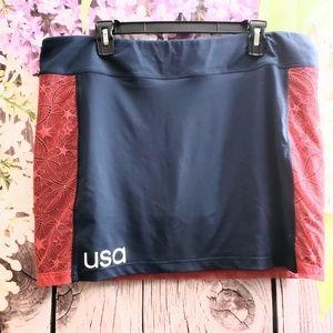 Adidas USA Golf Tennis Skirt Skort Shorts XL